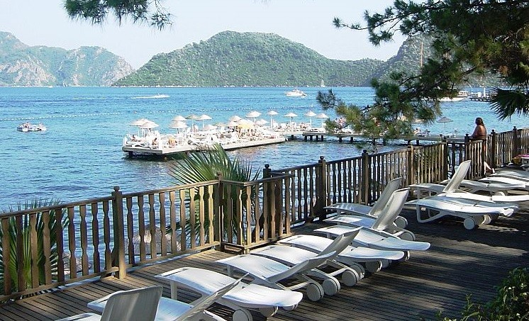 The teenager attacked was the Tepe district of the resort of Marmaris (WikiComms)