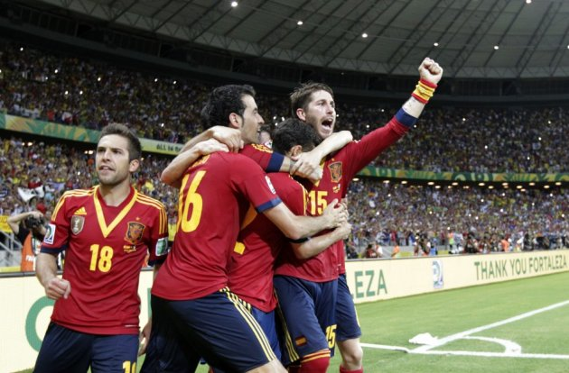 Spain Beat Italy in Confederations Cup Semi Final