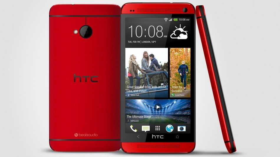 HTC One Red