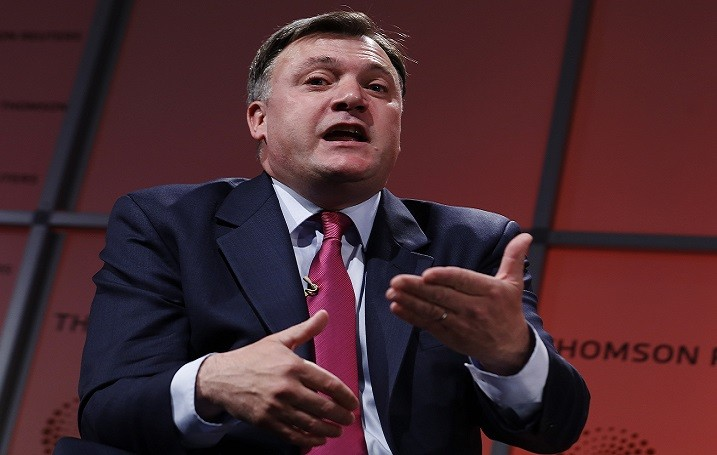 Camera snap means no wriggle room for Ed Balls