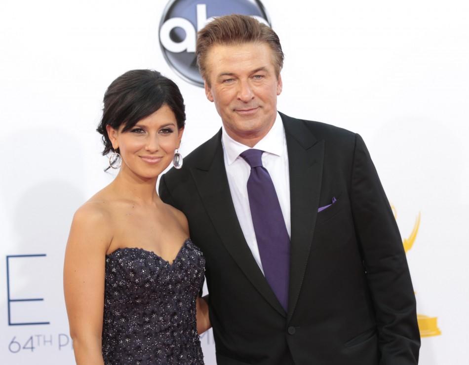 Alec Baldwin and wife Hilaria