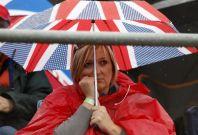 Rain-Affected Practice Session at 2013 Formula 1 British Grand Prix