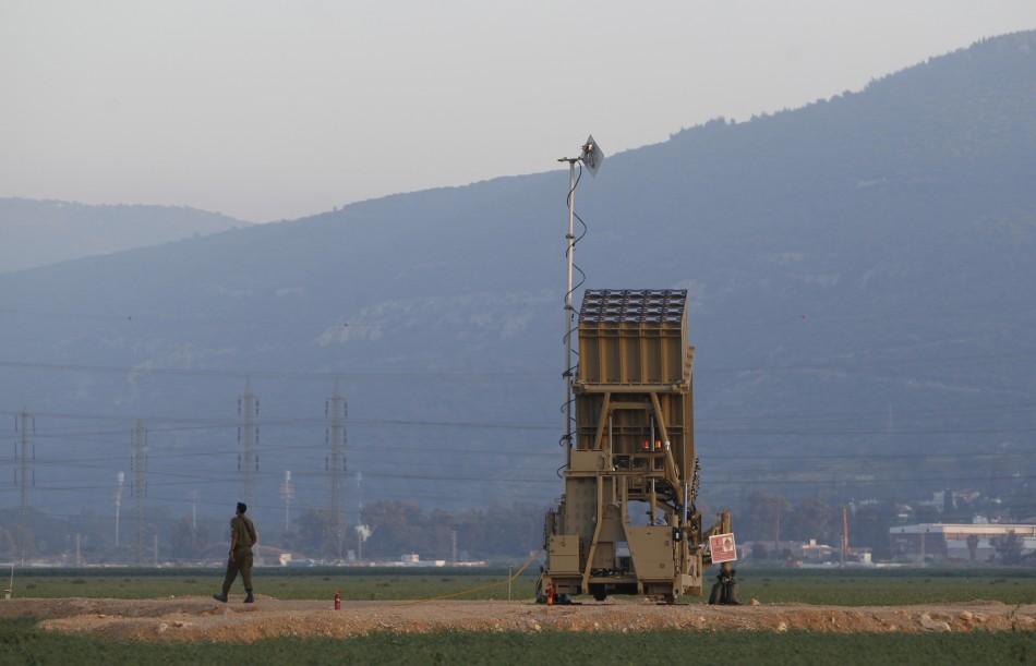 Israel's iron dome inteceptor