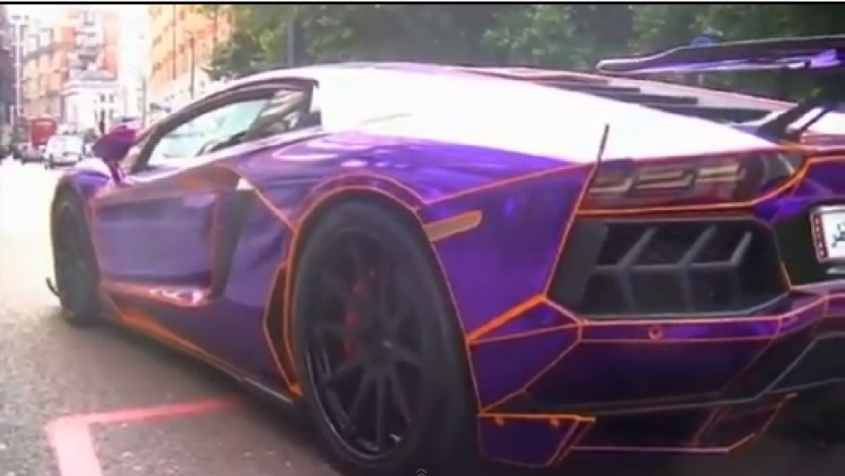 Millionaire Qatari boy racer, Nasser Al-Thani pulled over in London/YOUTUBE