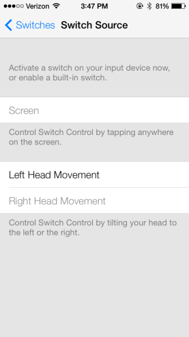iOS 7 Beta: How to Control iPhone or iPad with Head Gestures [VIDEO]