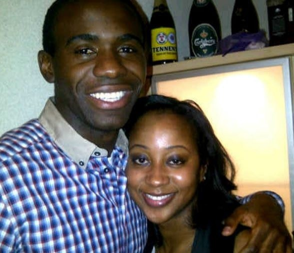 Fabrice Muamba and wife Shauna