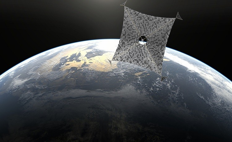Sunjammer in space in artist's impression