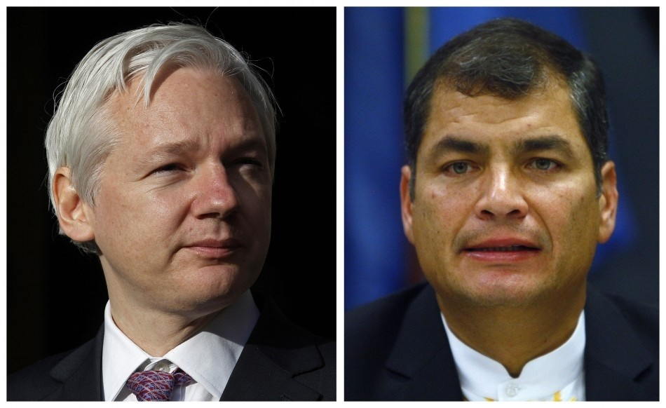 Assange and Correa
