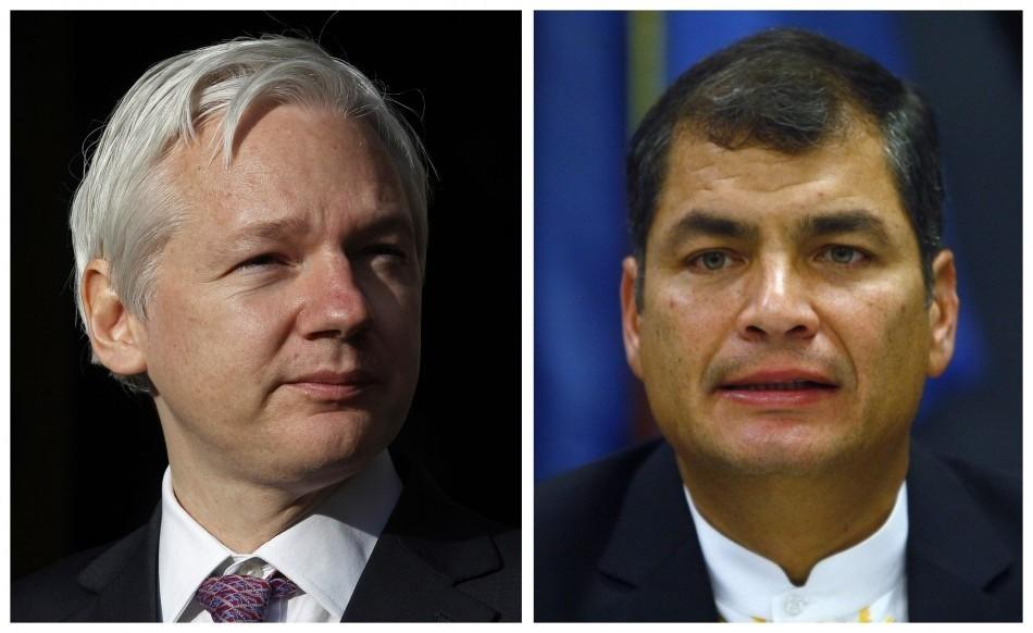 Assange and Correa