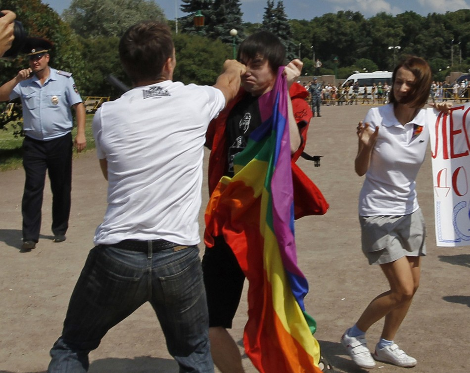 Homophobic attacks in Russia