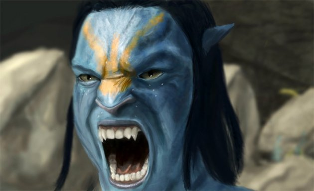 See you in court: Nav'vi character from Avatar film