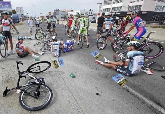 Tour crash