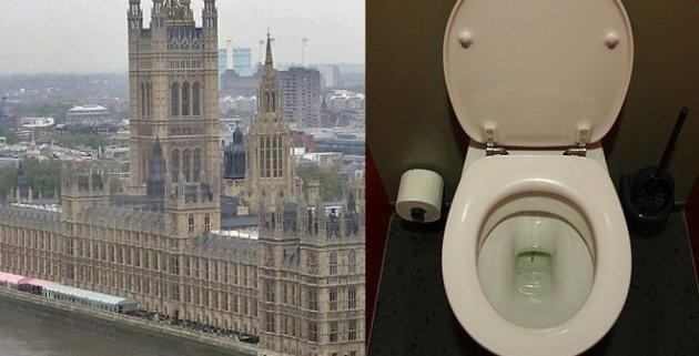The toilets in the House of Commons were described as being in an 'unacceptable condition' (WikiComms)