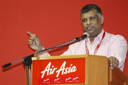 AirAsia Group CEO Tony Fernandes