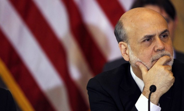 Chairman of the Federal Reserve Bank Ben Bernanke attends the Treasury Department's Financial Stability Oversight Council in Washington April 25, 2013. (Photo: REUTERS)