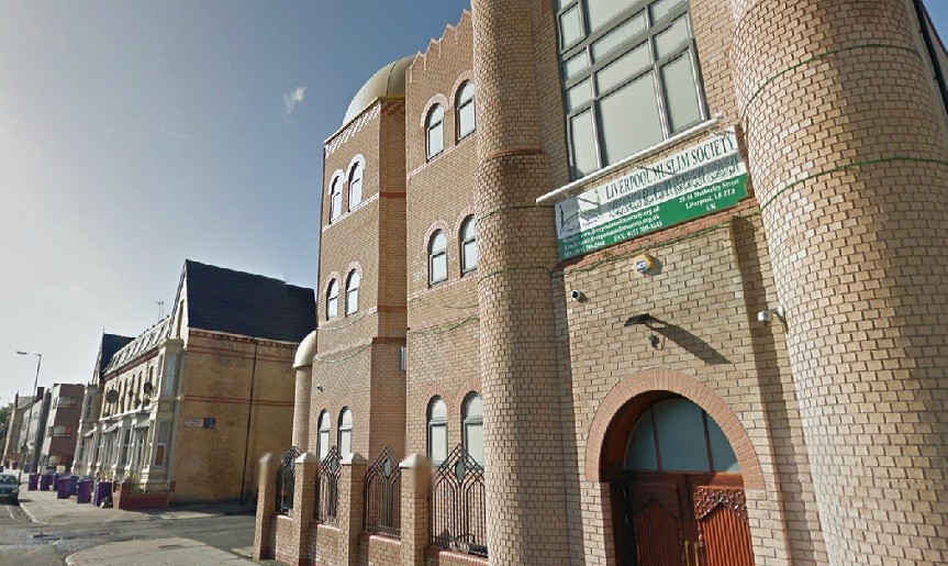 Al Hamra Mosque in Mulgrave Street, Liverpool