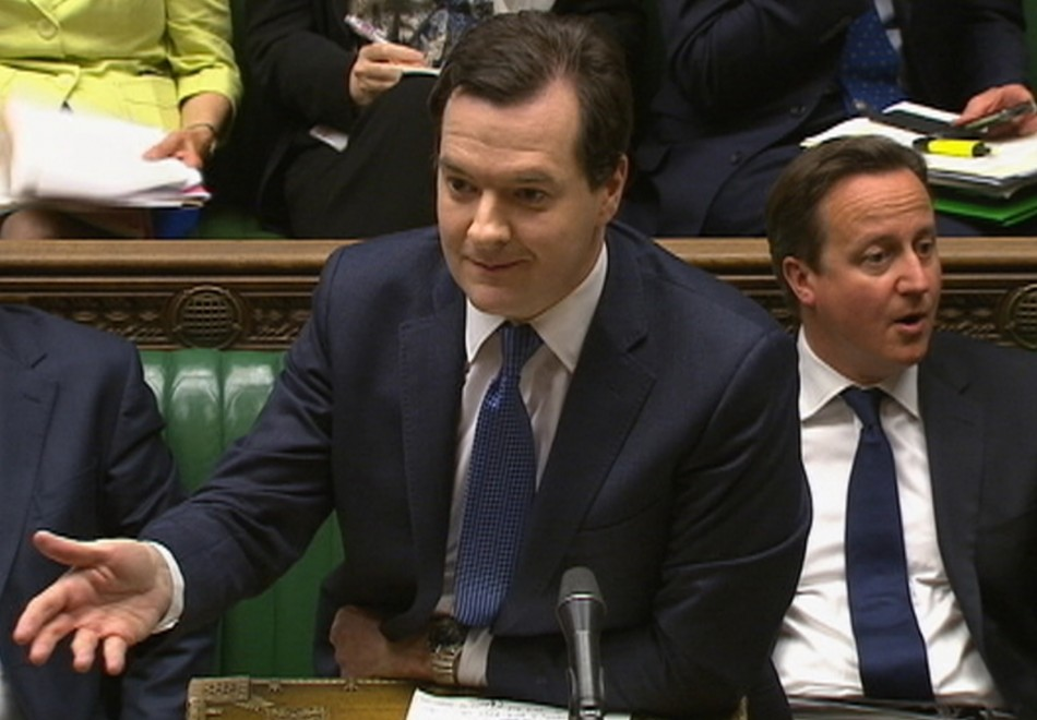 George Osborne spending review 2013
