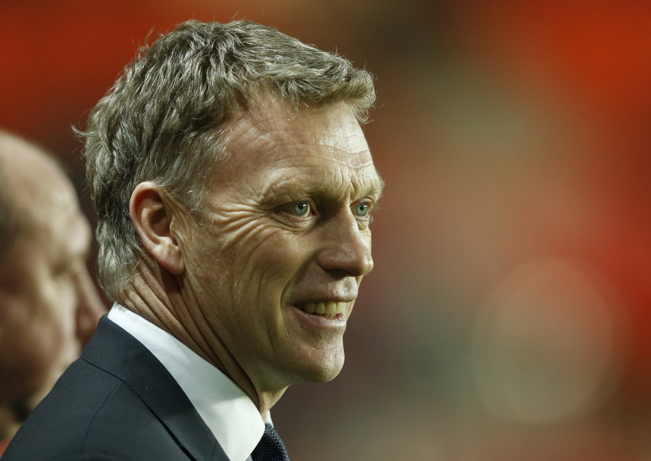 David Moyes has brought three of his Everton backroom staff to Manchester United (Reuters)
