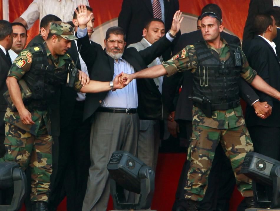 Egypt's Islamist President-elect Mohamed Morsi