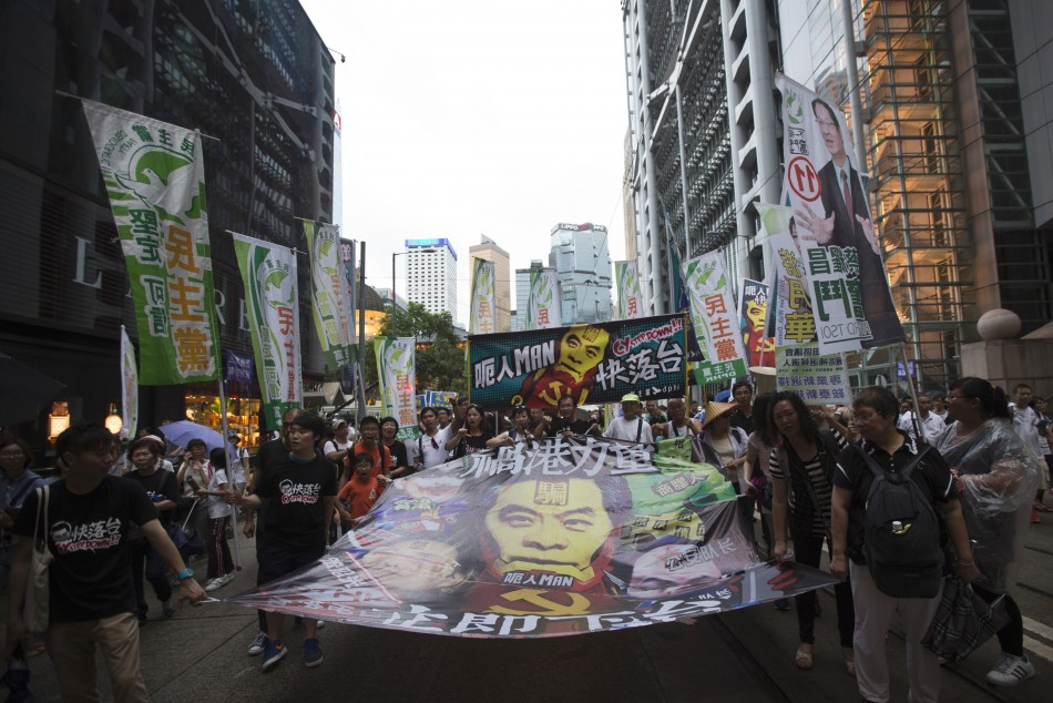 Hong Kong Demonstration