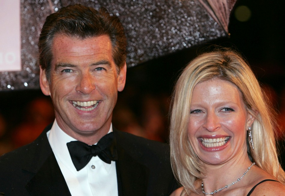 Pierce Brosnan daughter