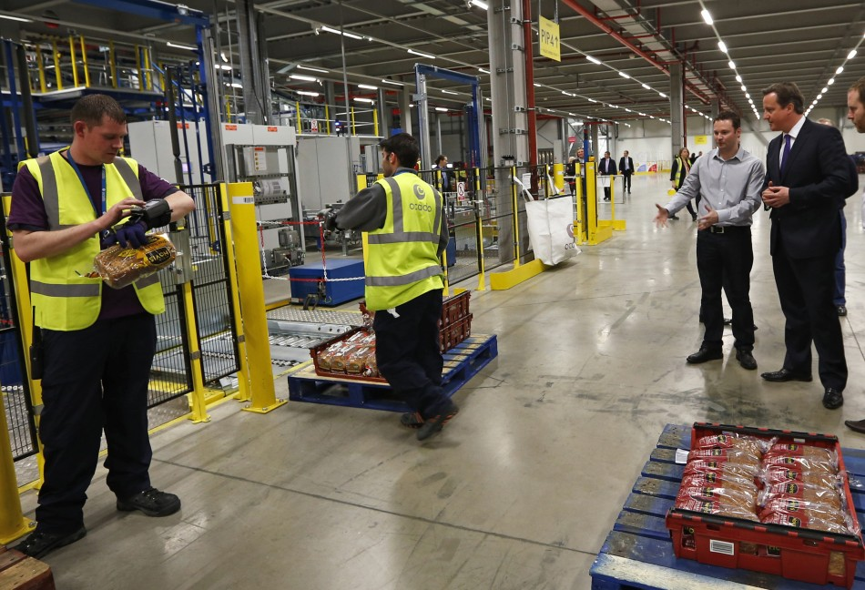Online grocer Ocado announced a pre-tax half yearly loss of £3.8m on 2 July