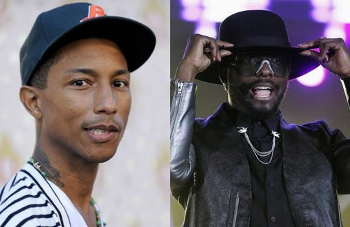 Pharrell Williams and Will.i.am