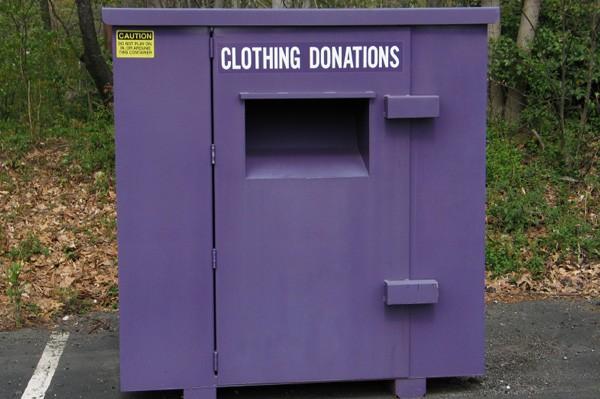 Donation bin