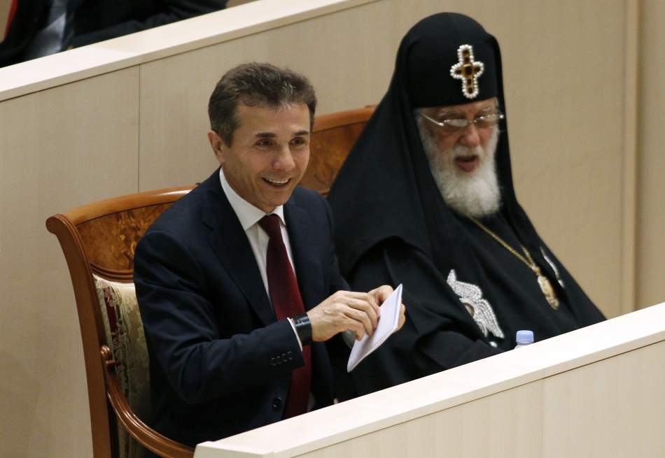 Ivanishvili and Patriarch Ilia II