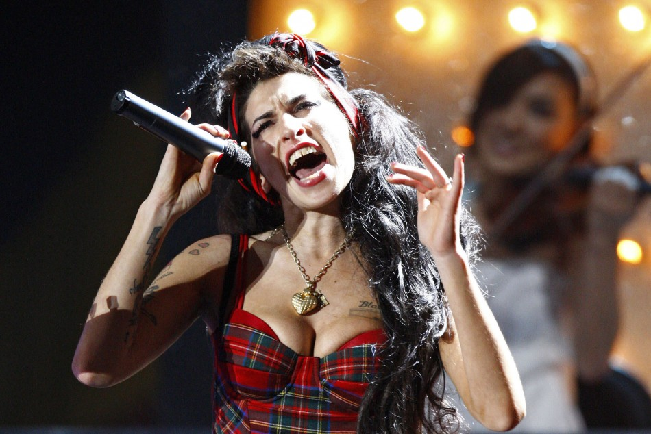 Amy Winehouse Exhibition Opens in Camden's Jewish Museum/REUTERS