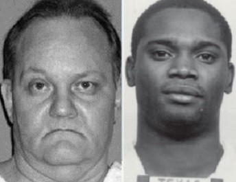 Douglas Roberts (L) and Brian Roberson (TDCJ)
