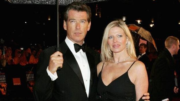 Pierce Brosnan with daughter Charlotte.