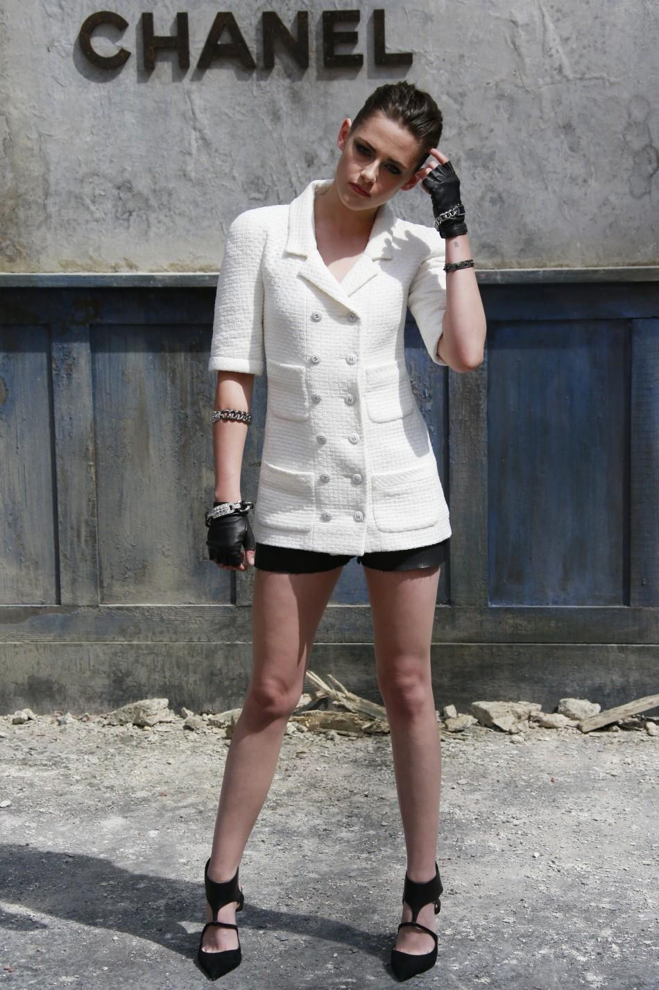 Paris fashion week 2013 kristen stewart rihanna stun at for American haute couture