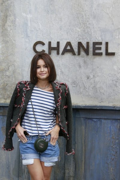 Fashion writer Miroslava Duma