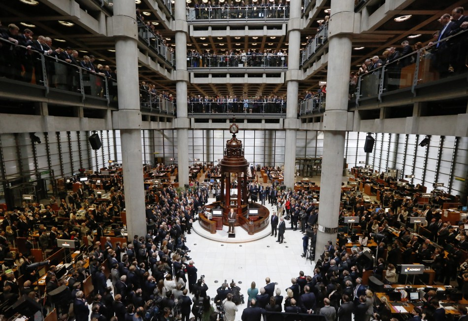Employees at Lloyd's of London insurance market in the City of London (Photo: REUTERS)