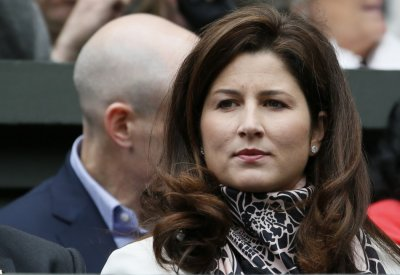 Mirka Federer, wife of Roger Federer of Switzerland