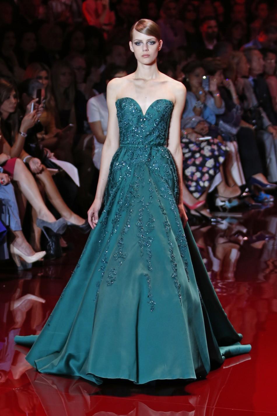 Paris Fashion Week 2013: Elie Saab's Royal Touch Creates ...
