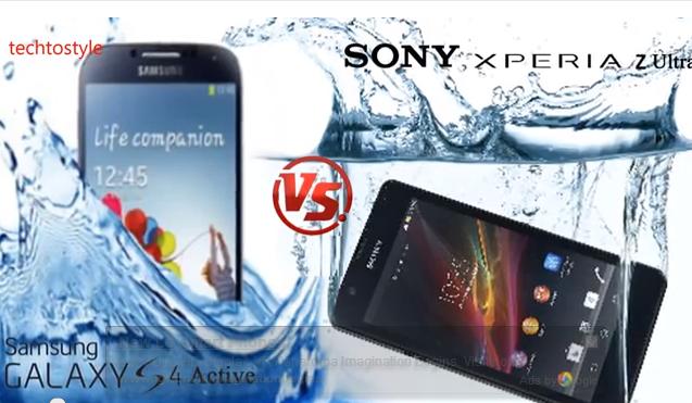 Sony Xperia Z Ultra Vs Samsung Galaxy S4 Active