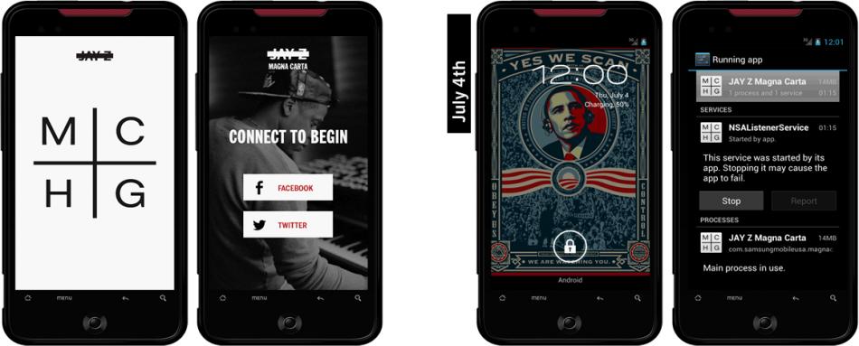 Fake Jay-Z App
