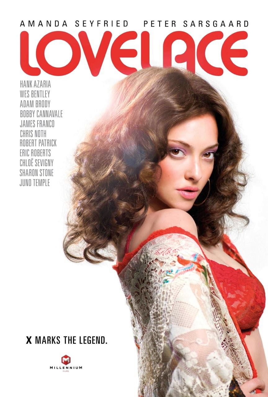 Amanda Seyfried as Linda Lovelce/Facebook/Lovelace
