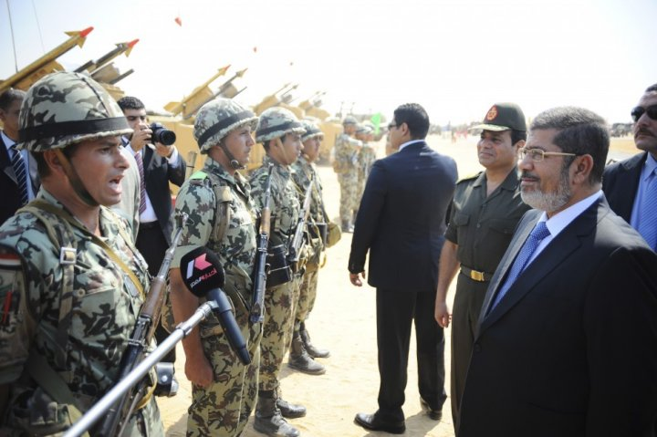 al-Sisi Morsi