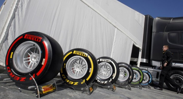 Pirelli Tyres for Formula 1 2013 World Championship