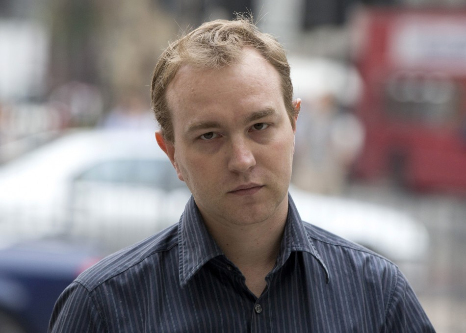 Former UBS and Citi trader Tom Hayes arrives at Westminster Magistrates Court in London June 20, 2013. (Photo: Reuters)