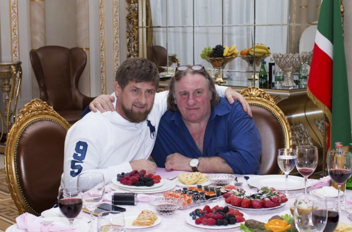 Ramzan Kadyrov Gerard Depardieu