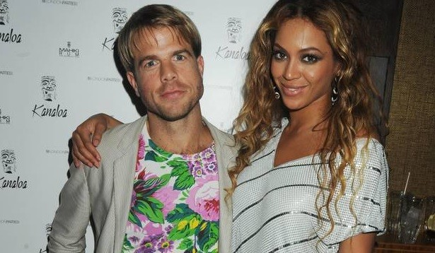 Nick House and Beyonce
