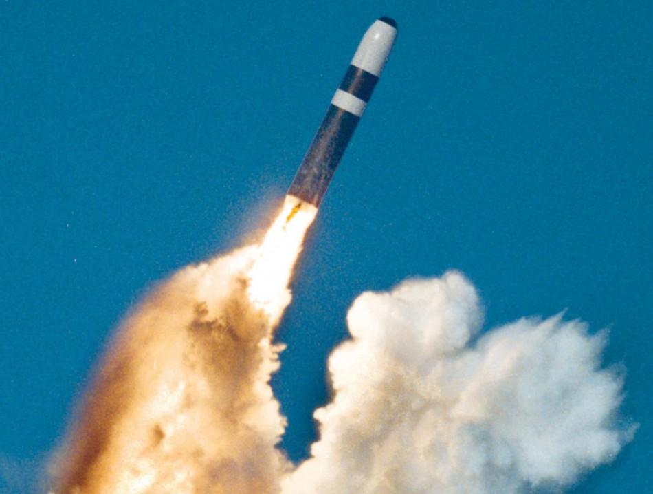 Trident missile