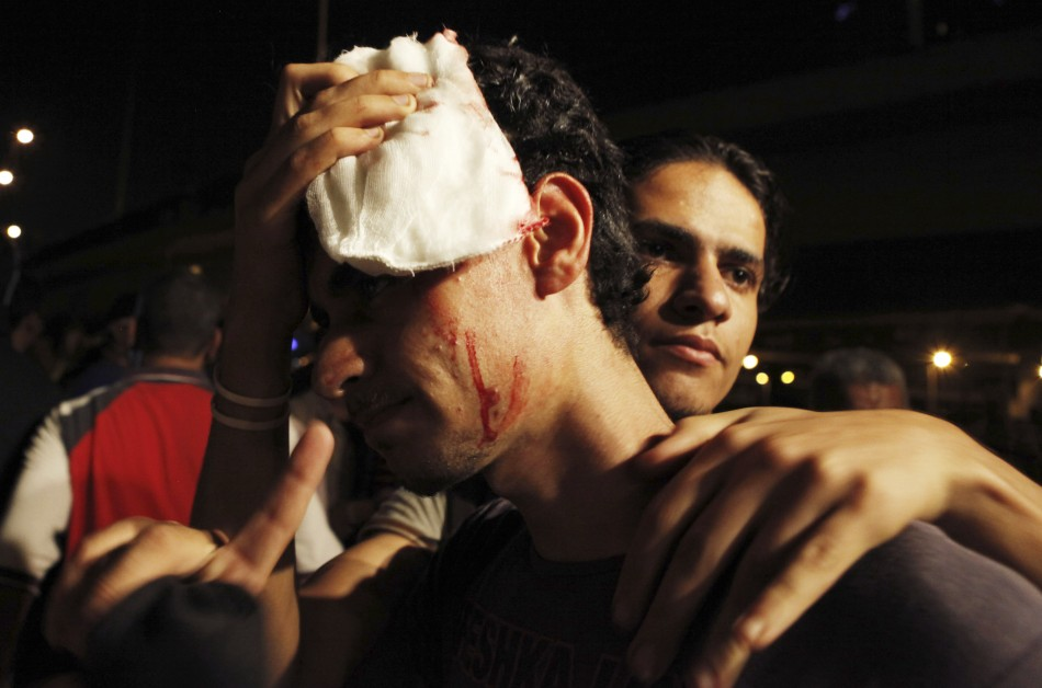 Egypt gripped by violence over Morsi;s ouster