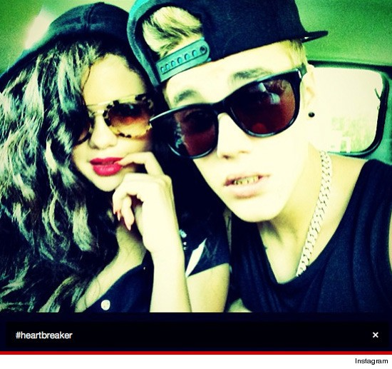 Justin Bieber Posts Photo With Selena Gomez Titled Heartbreaker