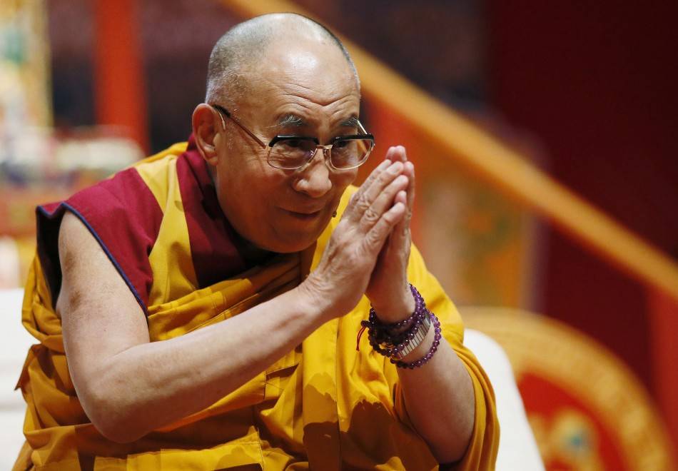 Tibet's exiled spiritual leader the Dalai Lama