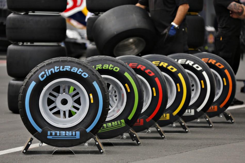Pirelli Tyres for 2013 Formula 1 World Championship